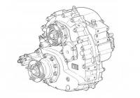 Раздаточная КП ZF Steyr 1600/300